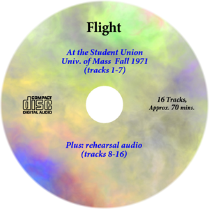 Flight CD from U-Mass Concert