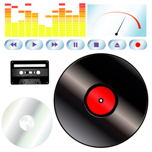 Audiotapes and Record Albums transferred to CD