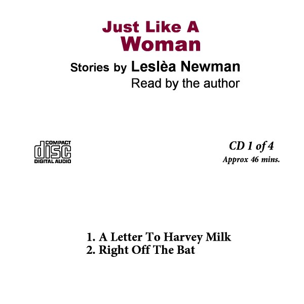 Leslea Just Like A Woman 2 cassettes to CDs 1 of 4